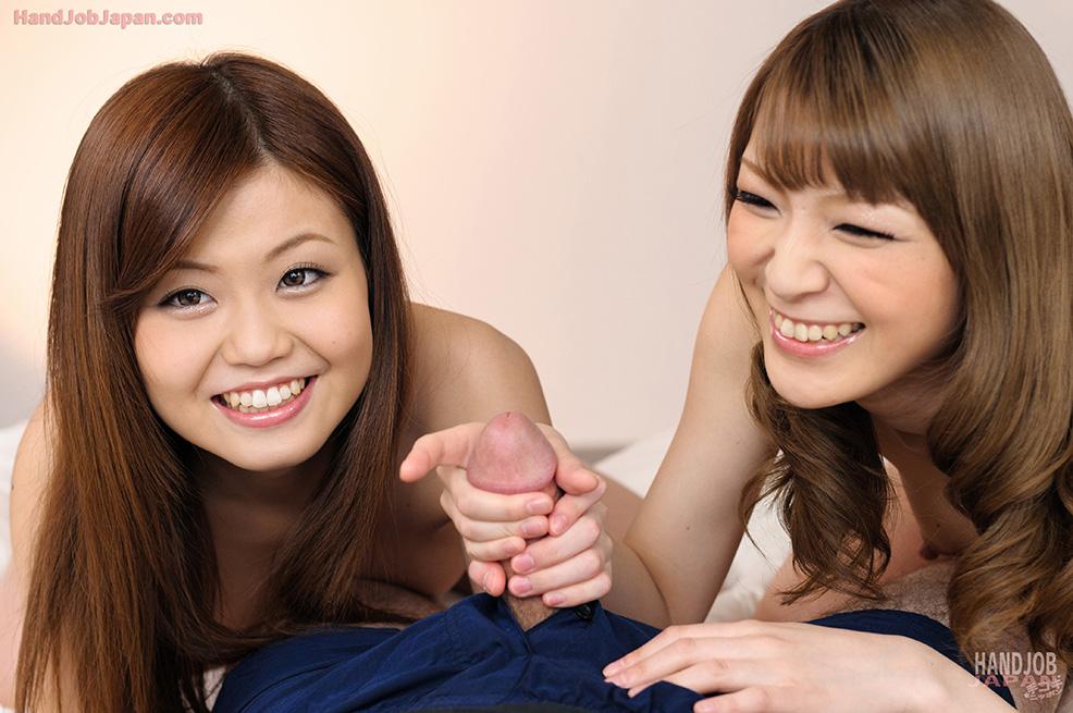 Two Japanese Girls Tominaga Yuria And Shiraishi Nao